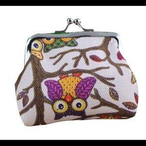 Handbags - 🦉 Owl Coin Snap Pouch